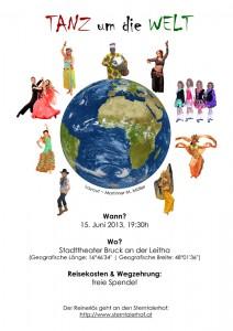 Tanz um die Welt - Plakat
