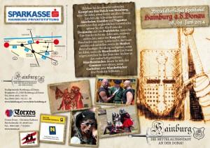Mittelalterfest Hainburg 2014