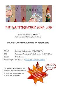 Flyer Lesung Feldberg 17.12.2016